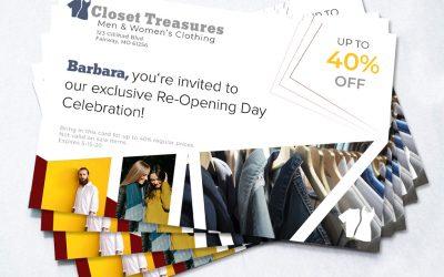 Re-Open Doors Using Direct Mail